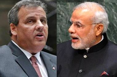 Modi meets New Jersey governor