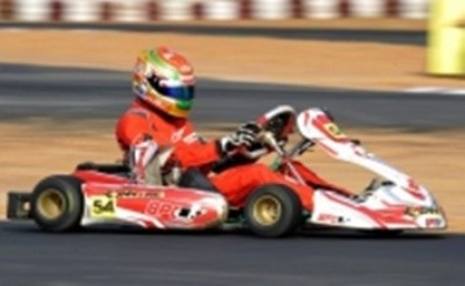 Clean sweep by racer Donison in Rotax Kart Open Cup