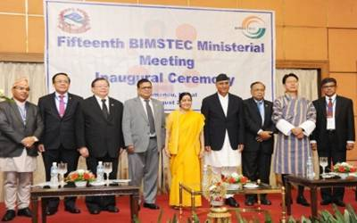 Bimstec natural choice for India's Act East, neighbourhood first policy: Sushma