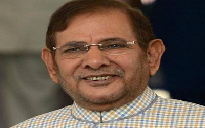 Sharad Yadav removed as leader of JD-U parliamentary party