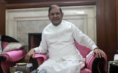 Pressure from 'all sides' for my disqualification: Sharad Yadav