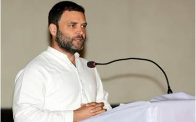 Modi's promises a bundle of lies, says Rahul Gandhi