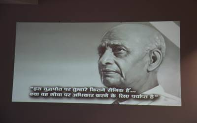 Sardar Jayanti at Indian mission