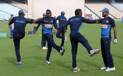 Sri Lanka have extended training session