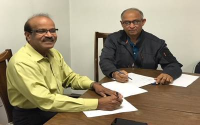 Bal Vihar, Hindu Temple of St. Louis sign pact