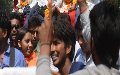 NSUI, ABVP share glory in DUSU elections