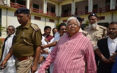 IRCTC case: Lalu, wife, son, top Railway Board official charge-sheeted