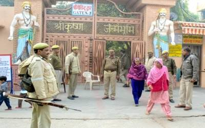 Heavy security in Ayodhya on Babri demolition's 26th anniversary