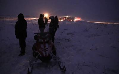 Search continues for bodies after Russian plane crash