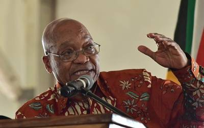 South Africa's ruling party decides to remove Zuma