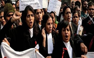 Lawyers strike work in 22 UP districts