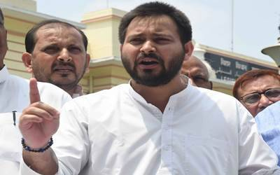 Tejashwi taunts Modi over death of 45 soldiers in 30 days