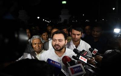 CBI court issues notice to Tejashwi Yadav