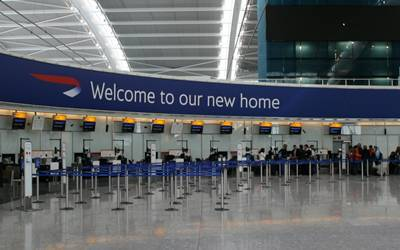 Woman held at Heathrow Airport for 'preparing for terror acts'