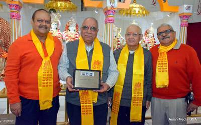 Hari Om Mandir begins New Year with a bang
