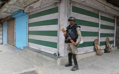 Curfew in north Kashmir town after youth killed in army firing