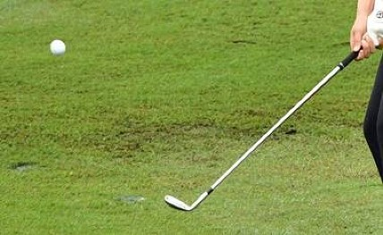 Grillo in lead; Sandhu best home golfer at Indian Open