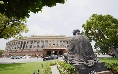 Lok Sabha adjourned for the day