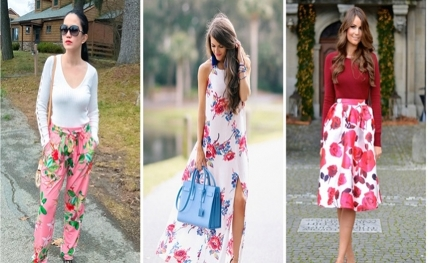 Get floral fashion right