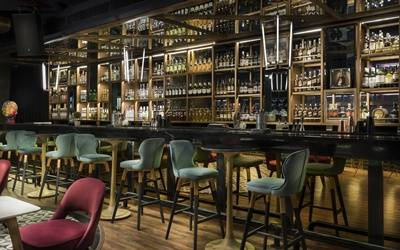 Of 111 whiskys and a 60-foot-long bar