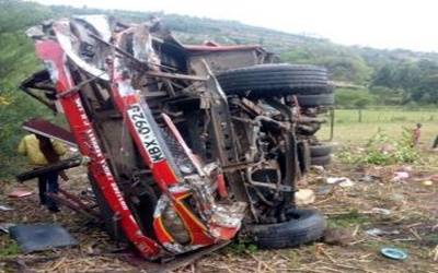 50 killed in Kenya bus crash