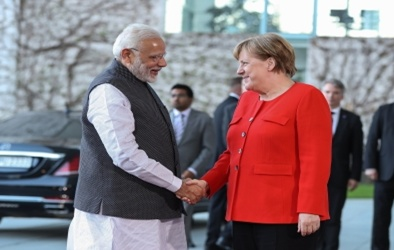 Merkel, Modi share good chemistry, work on for Merkel visit: German envoy (IANS Interview)