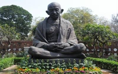 No greater tribute to Gandhi than a minute of silence in his memory