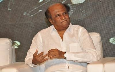 Attempts being made to give me saffron hue: Rajinikanth