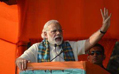 100 days of govt just a trailer, full movie yet to come: Modi (Lead)
