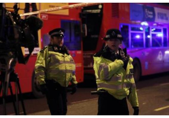 Police officer hurt while breaking up London Eid street party