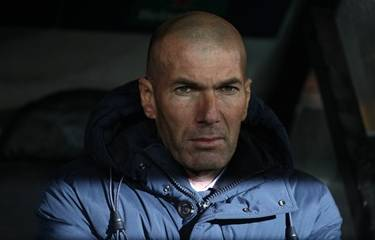 Zidane backs Real to rebound after cup exit