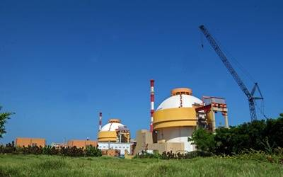Reactor side problem, one unit at Kudankulam shut down