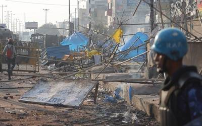 Delhi death toll rises to 17, no fresh violence reported