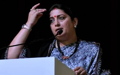 FIR lodged for using Smriti's pic in real estate ad (Lead)