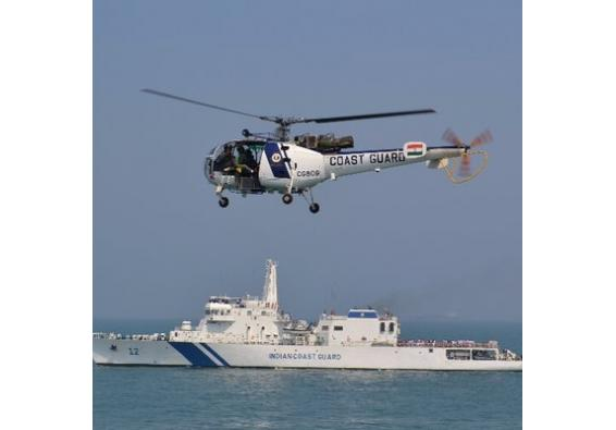 Indian Coast Guard tows drifting oil tanker to safety