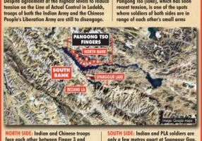 Top Indian, Chinese military leaders to meet again on Monday, Pangong Lake on agenda