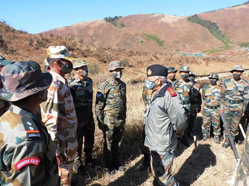 CDS visits border locations in eastern Ladakh to assess situation