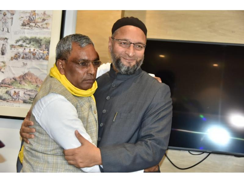 AIMIM to contest UP Panchayat polls with SBSP