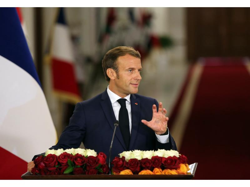 French Prez Macron selected as person of interest by Morocco in 2019