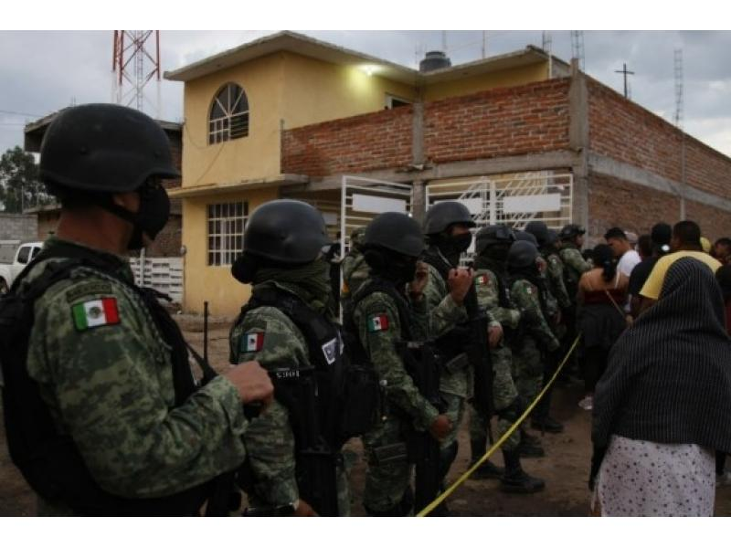 Homicides in Mexico fall 3.5% in 1st half of 2021
