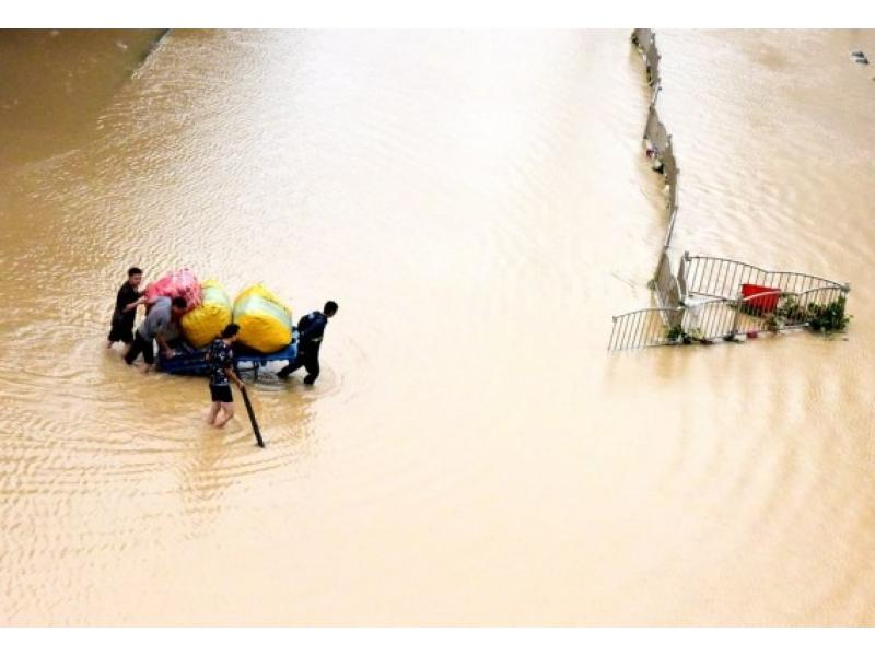 Death toll from heavy rains in China reaches 25