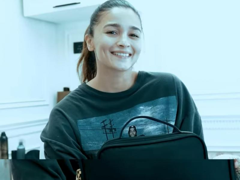 Alia Bhatt gives glimpse of her skincare routine