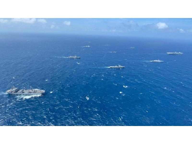 Indian, UK navies hold 2-day maritime drill in Bay of Bengal
