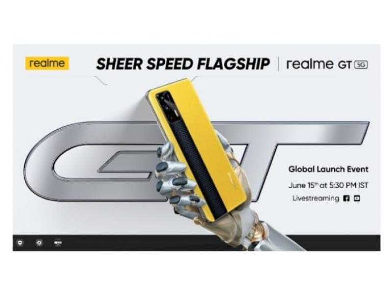 realme to launch 'GT' smartphone on June 15