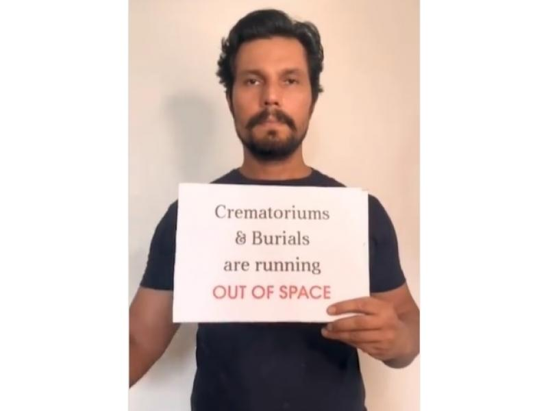 Randeep Hooda pitches in to provide oxygen concentrators
