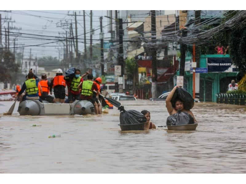 Death toll from tropical storm in Philippines reaches 19