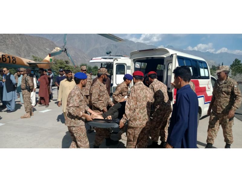 5 dead as jeep falls into ditch in PoK