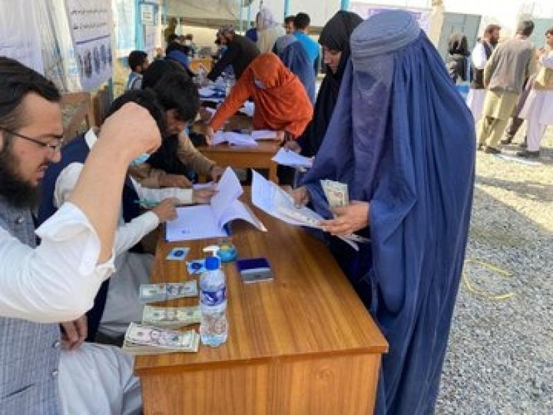 Thousands in Afghanistan receive assistance from UNHCR