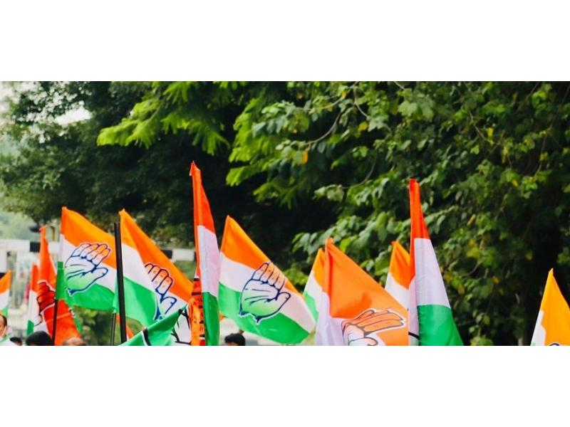 Delhi Congress protests outside CM House over Chhath Puja row