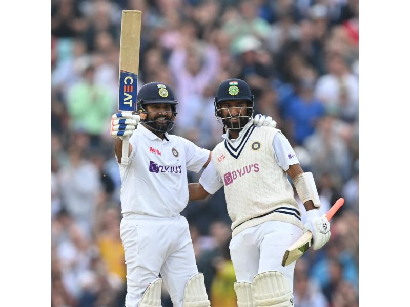Fourth Test: Rohit Sharma's ton puts India in control